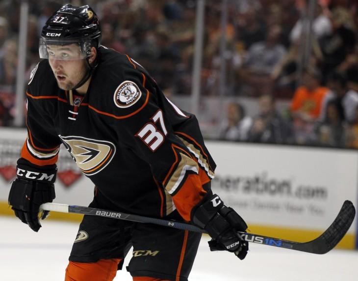 Nick Ritchie Anaheim Ducks (Alex Gallardo - AP)