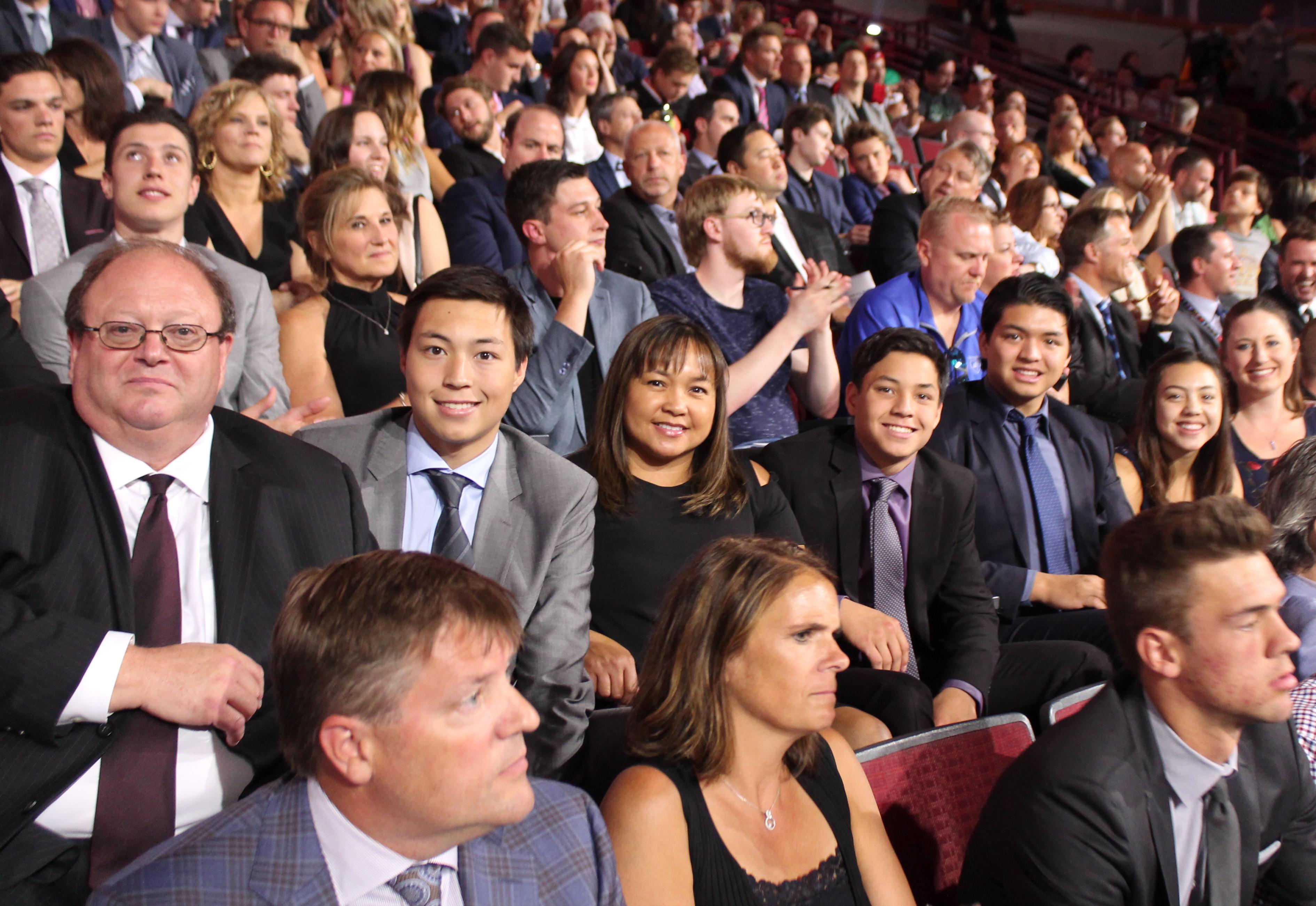 Robertson Family2 NHL Draft 2017