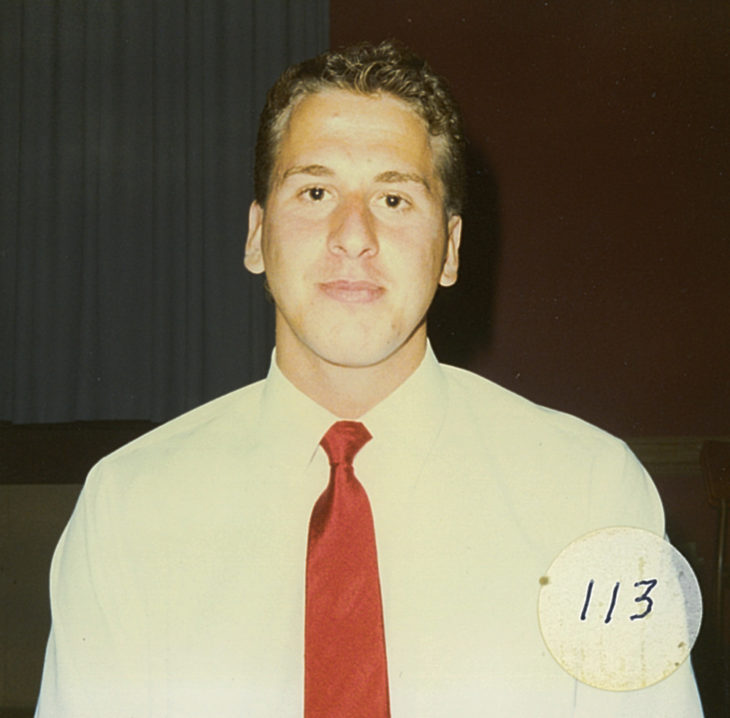 Wilson at a Petes event during the 1988-89 season.