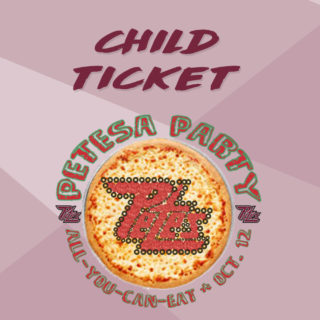 Regular Child Petesa Party Ticket (square)