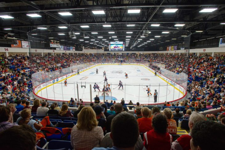 Flint Firebirds OHL Arena Dort Federal Event Center