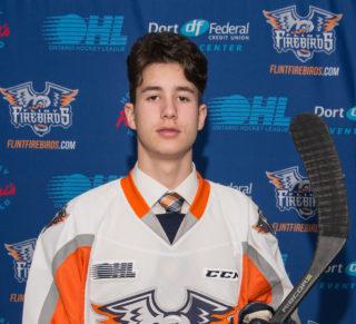 Flint Firebirds 2018 3rd-Round OHL Draft Pick Michael Bianconi
