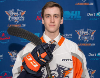 Flint Firebirds 2018 6th-Round OHL Draft Pick Tyler Deline