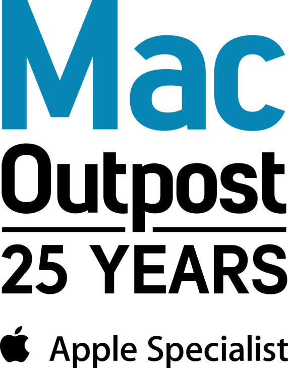 Mac Outpost 25 Years Square Logo KNIGHTS