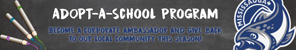Adopt A School Website Banner