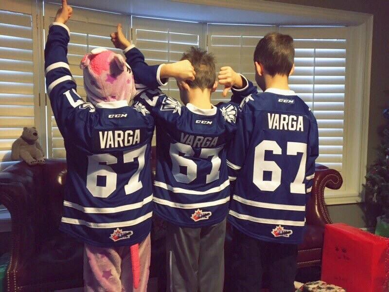 Adam Varga's billet family
