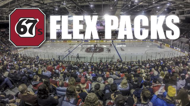 2015/16 Flex Packs Now on Sale! - Ottawa 67s