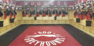 Greyhounds' Dressing Room