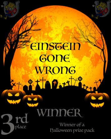 Halloween Costume Contest Third