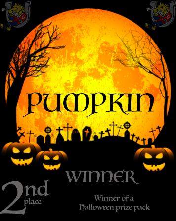 Halloween Costume Contest Second