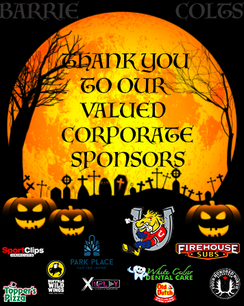 Halloween Costume Contest Sponsor Thank You