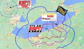 Coverage Map NO WKSN