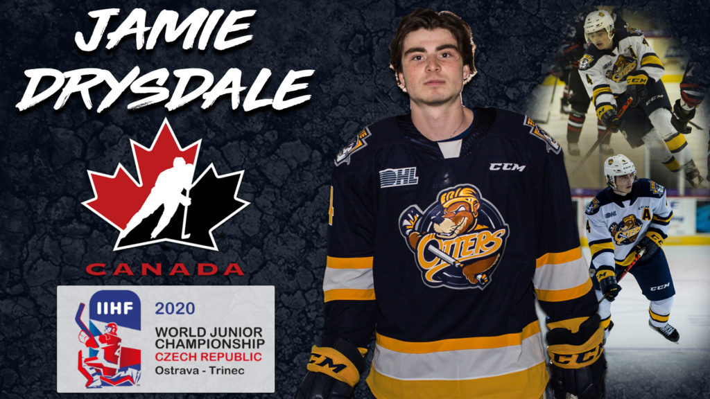 Drysdale Invited To Team Canada Selection Camp For 2020 World Junior Tournament Erie Otters