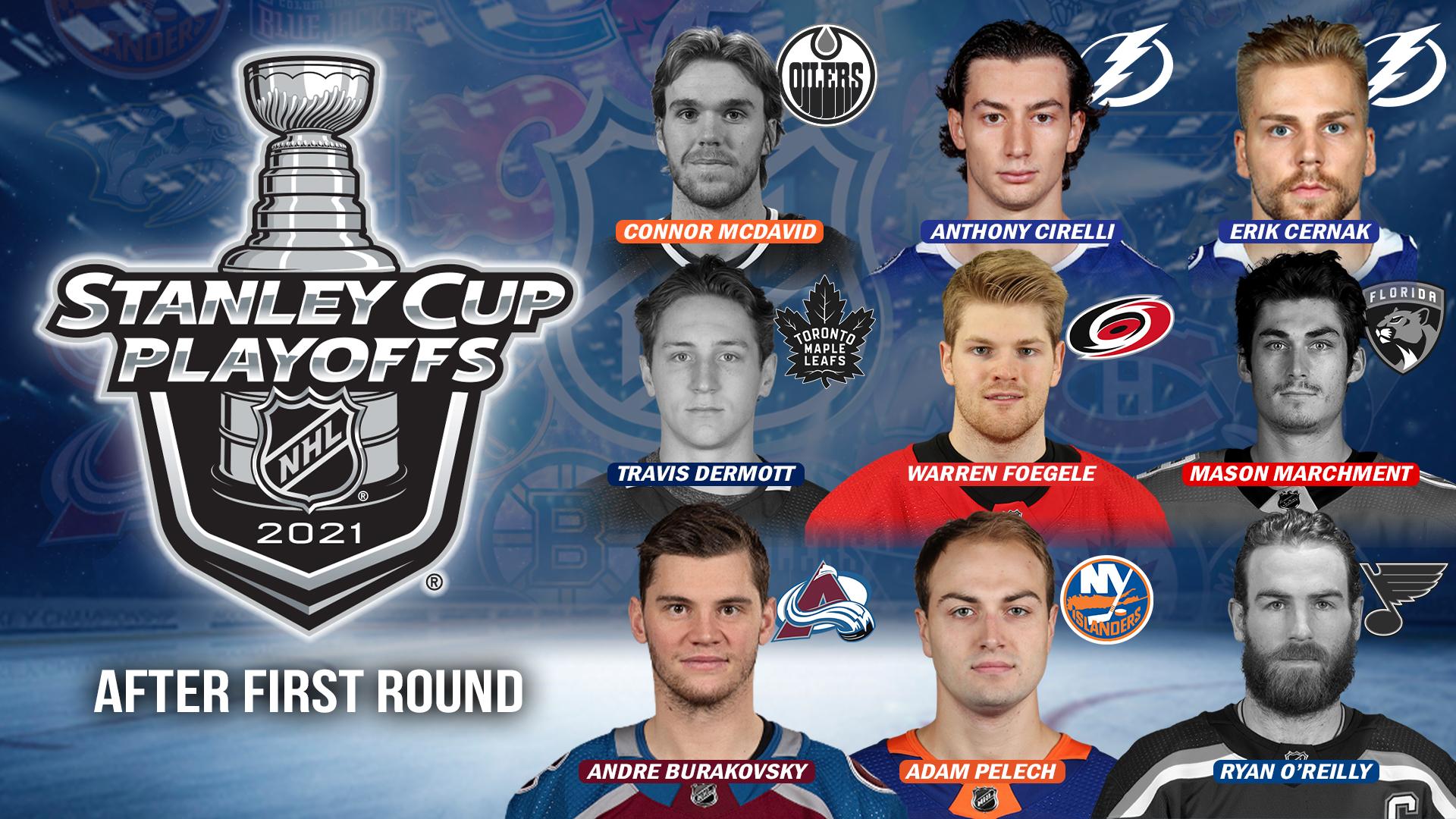 NHL Playoff Alumni Graphic