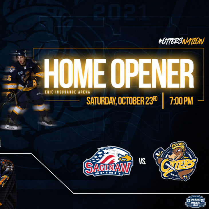 Erie Home Opener Announcement 2021 copy