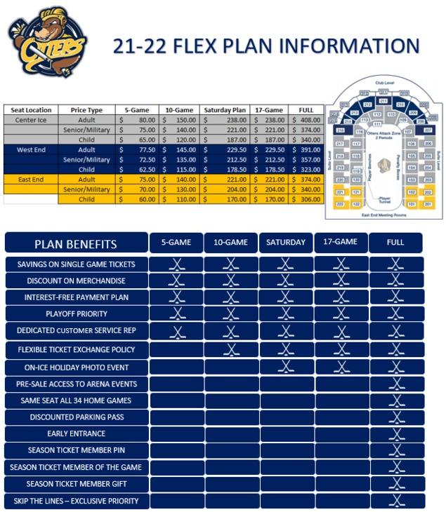Flex Plan Flyers