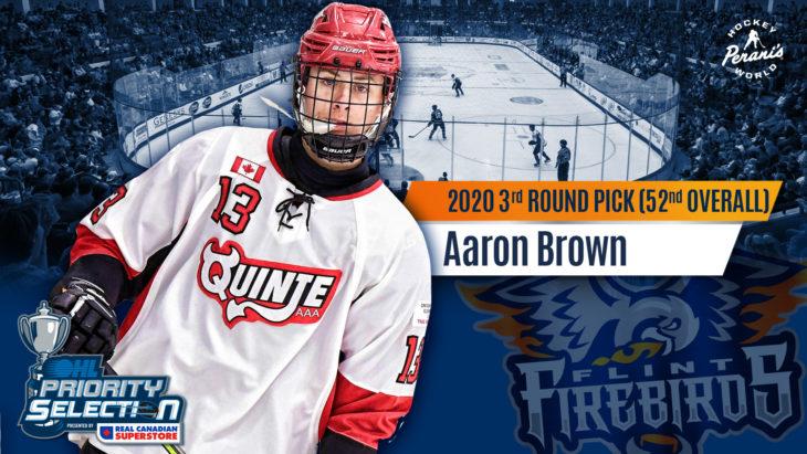OHL Draft Picks_Twitter_Brown