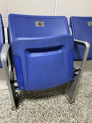 Seat floor small