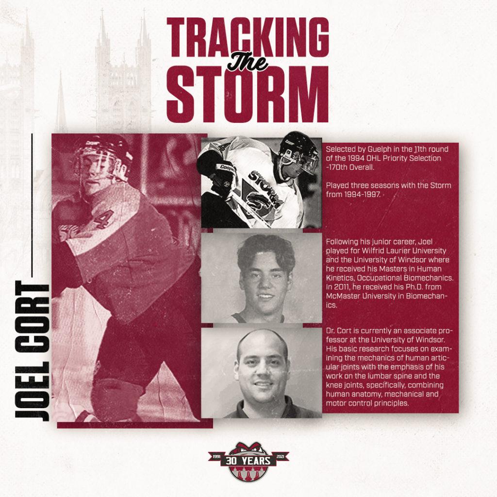 Tracking the Storm Joel Cort