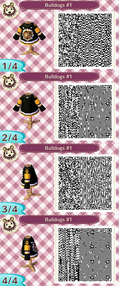 Black Jersey QR codes