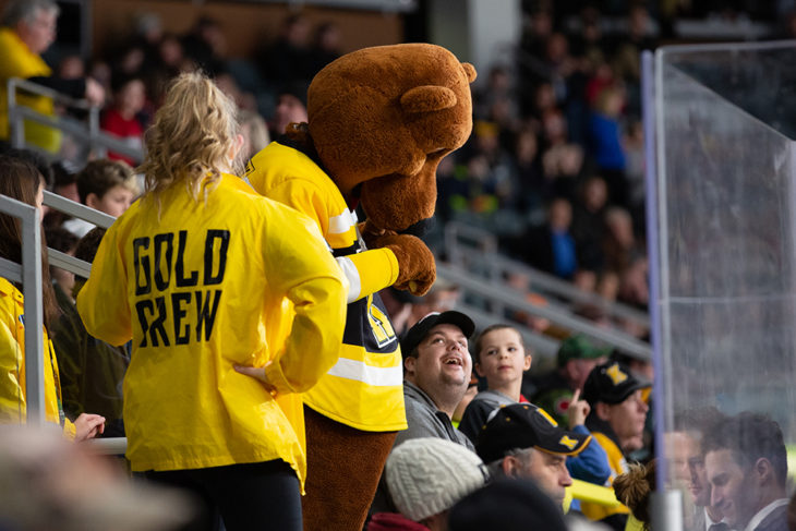 Become a Volunteer with the Kingston Frontenacs!