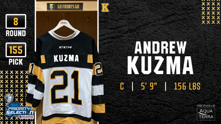 RD.8 | Pick #155 - Andrew Kuzma, Forward, Chicago Mission 15's