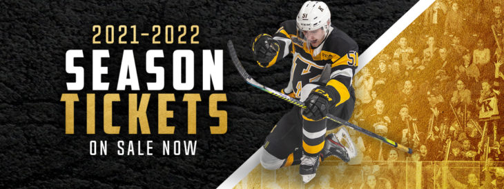 2021-22 Season Tickets Are On Sale Now