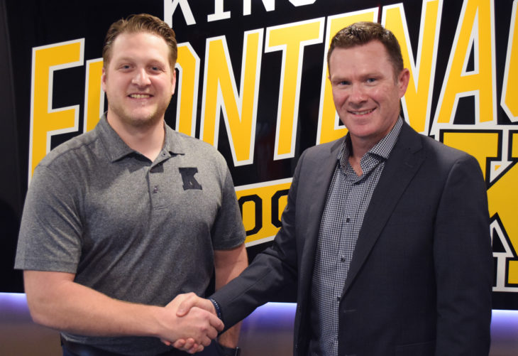Frontenacs name Troy Paquette Team Services Coordinator