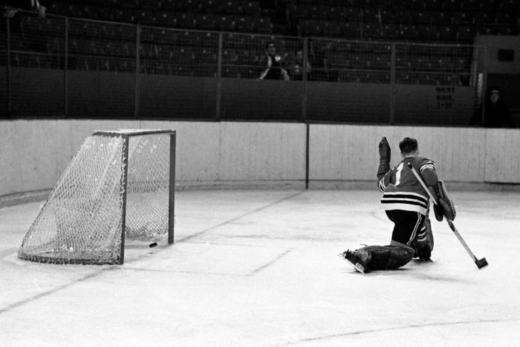 Sandy Fitzpatrick - the Rangers' first captain – broke a 3-3 tie to give the Rangers' its first franchise victory, 4-3, over the St. Catharines Black Hawks.
