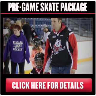 Ticket Page Button - Pre-game Skate