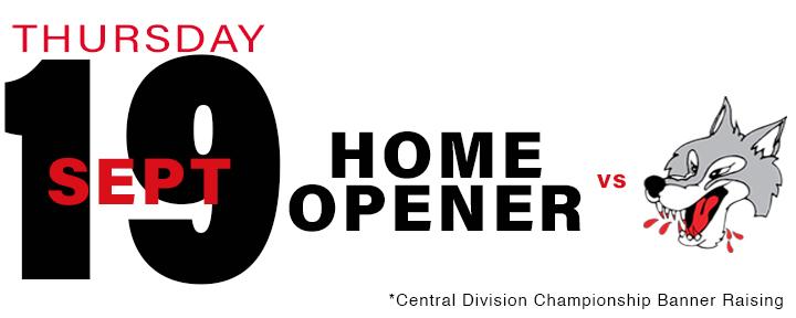 PROMOTIONAL Schedule - Home Opener copy