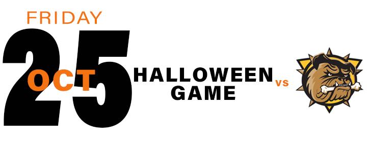 PROMOTIONAL Schedule - Halloween