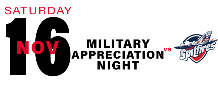 PROMOTIONAL Schedule - Military Appreciation