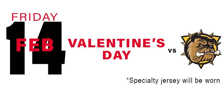 PROMOTIONAL Schedule Valentine's Day
