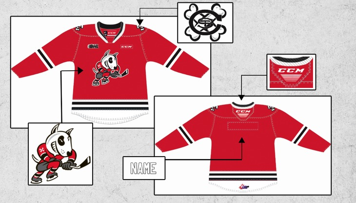 Red Jersey Mockup