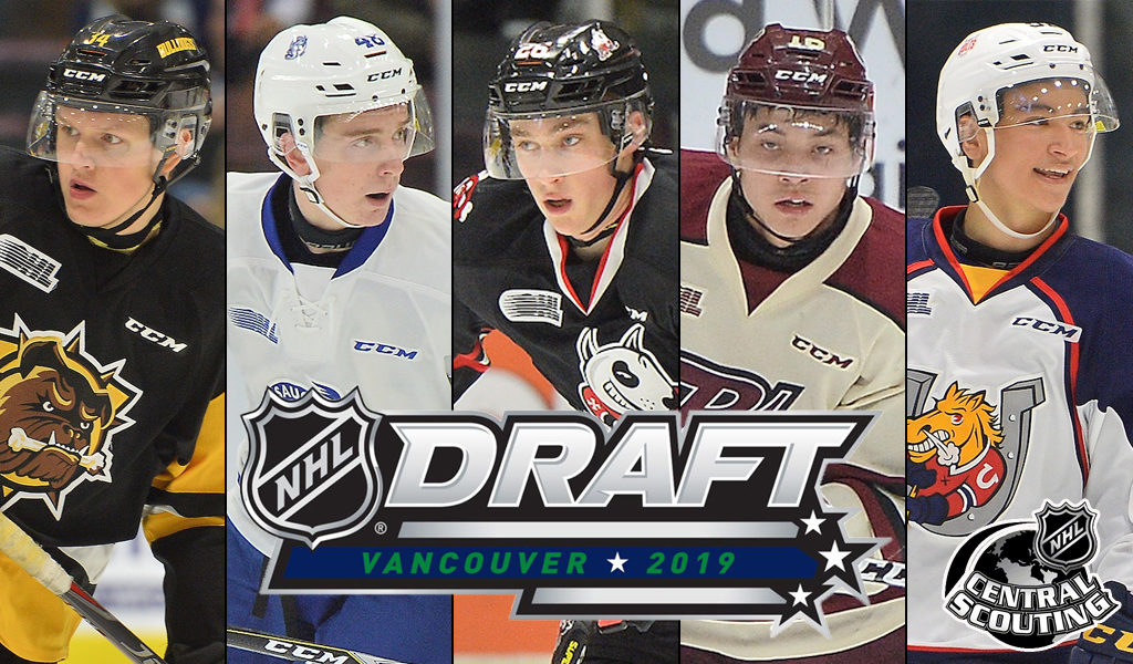 48 Ohl Players In Final 2019 Nhl Central Scouting Draft Rankings