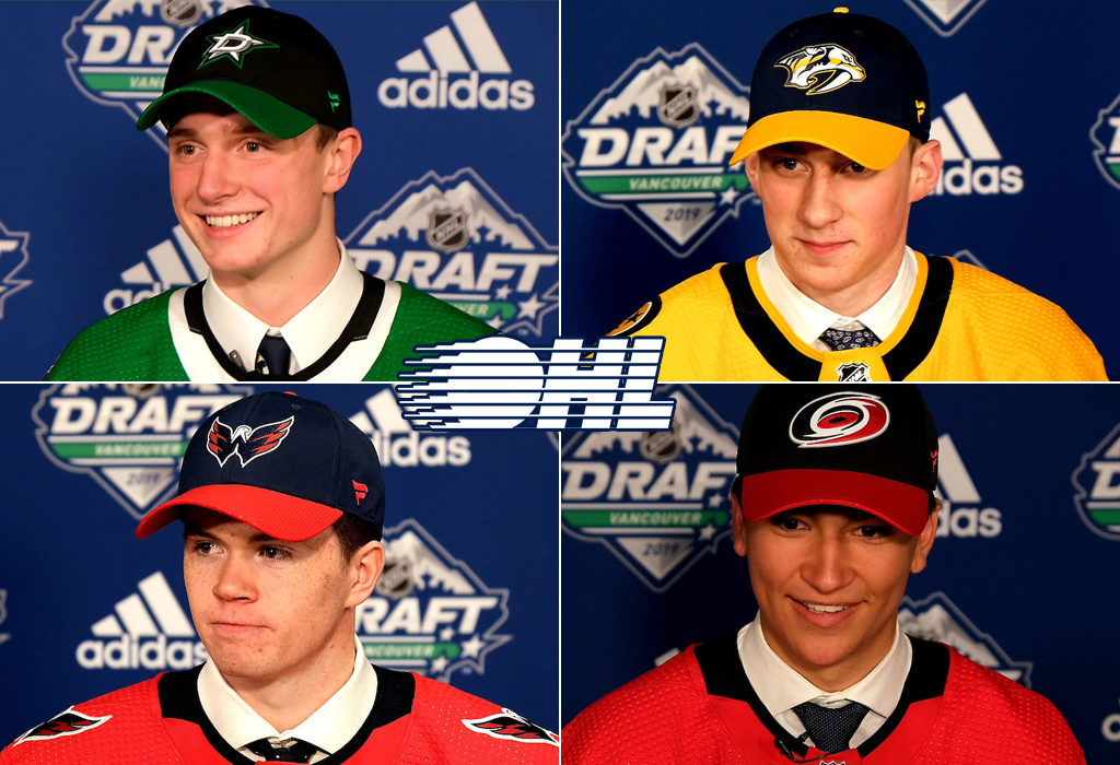 Four Ohl Players Selected In First Round Of 2019 Nhl Draft