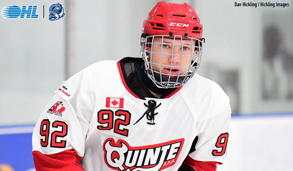 Owen Beck commits to Steelheads – Ontario Hockey League