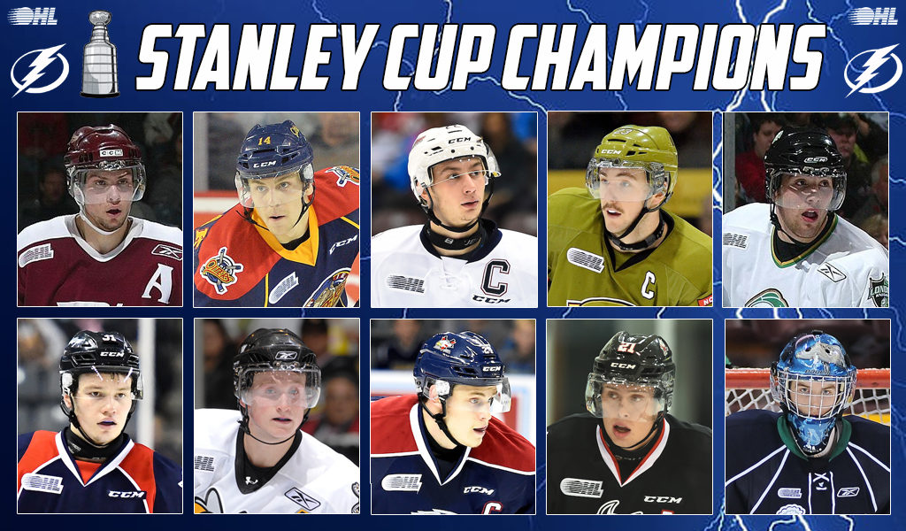 10 Ohl Graduates Win Stanley Cup With Tampa Bay Lightning Ontario Hockey League