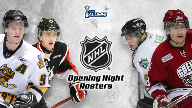 175 OHL Alumni on NHL Opening Night Rosters - Canadian Hockey League