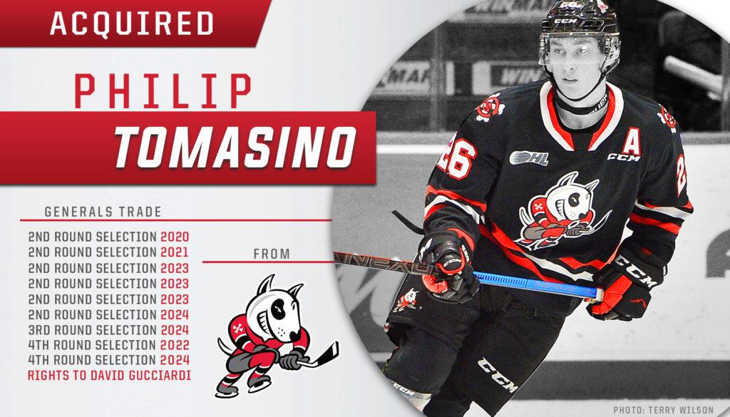Acquired PhilipTomasino Twitter FB copy 1024x585 - Canada Hockey invites the last Niagara IceDog to world Jr. selection camp
