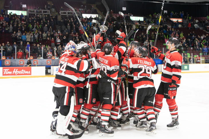 Ottawa 67's win the inaugural Alexandra Cup and re-start the winning streak with a 5-1 win over the Gatineau Olympique