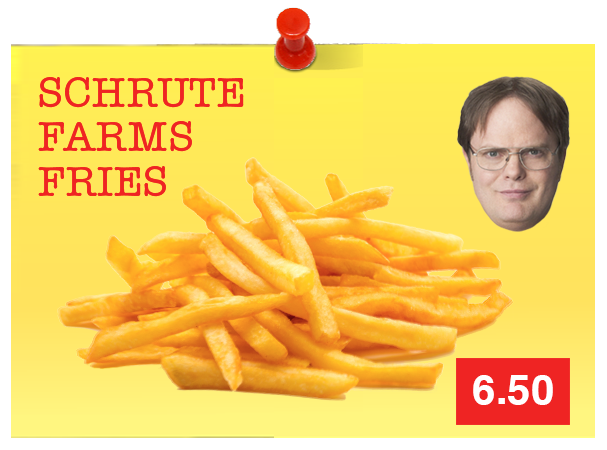 Schrute Farm Fries