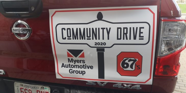 myers magnet truck sign