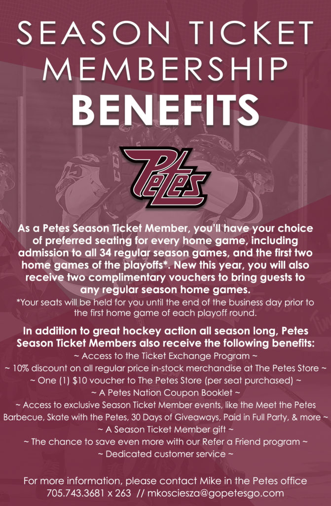 3 - Season Ticket Benefits Full Page 2019-20