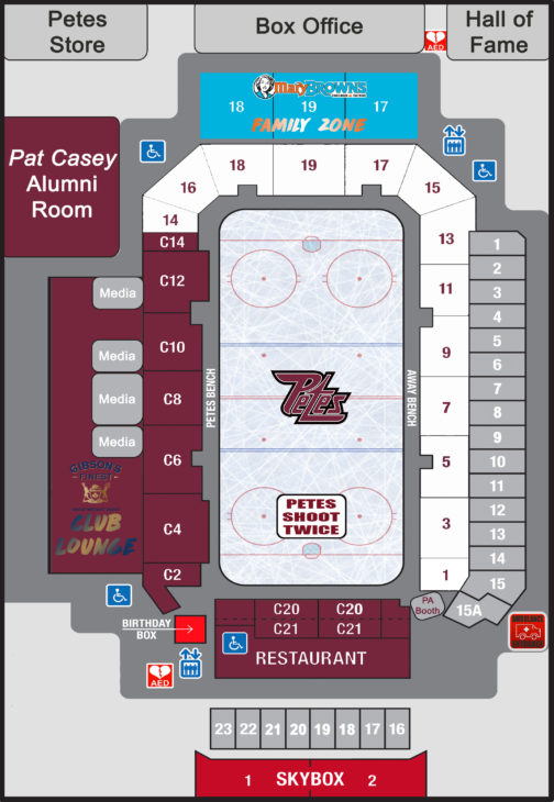PMC Hockey New Seat Map 2019-20