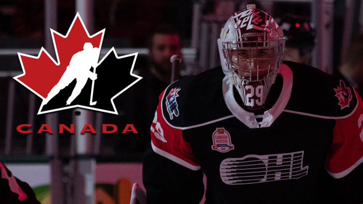 Hunter Jones Canada Russia Hockey Canada - Matt Hiscox