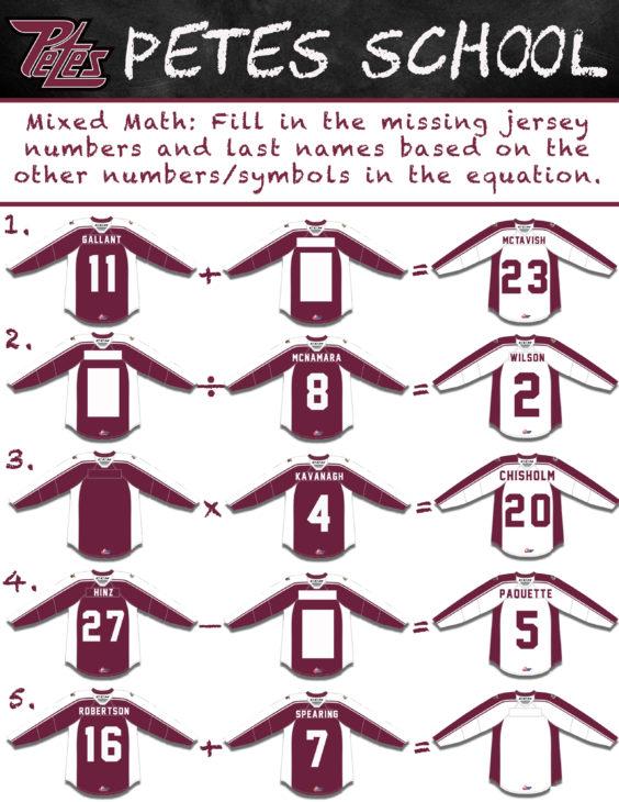Petes School- Mixed Math-3