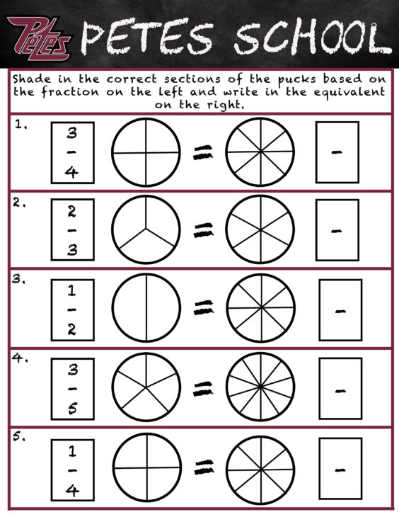 Petes School- Fractions copy