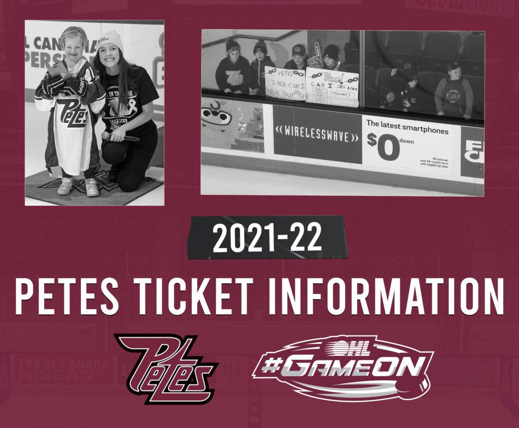 Final ticket information